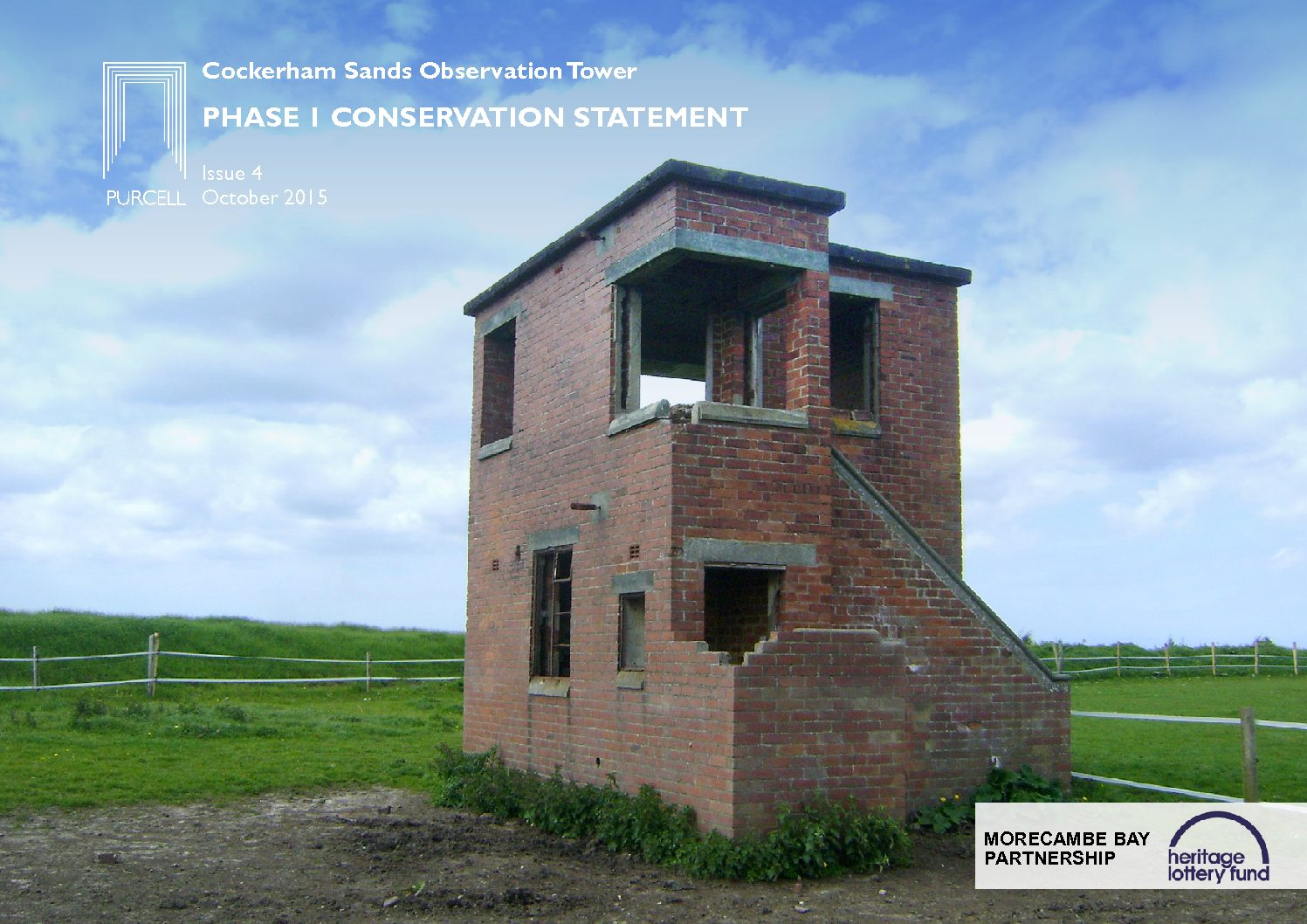 Cockerham Sands Observation Tower Phase 1 Conservation Statement