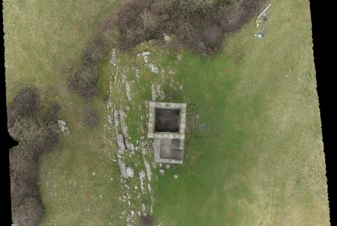 Overhead view of Kirkhead Tower 2