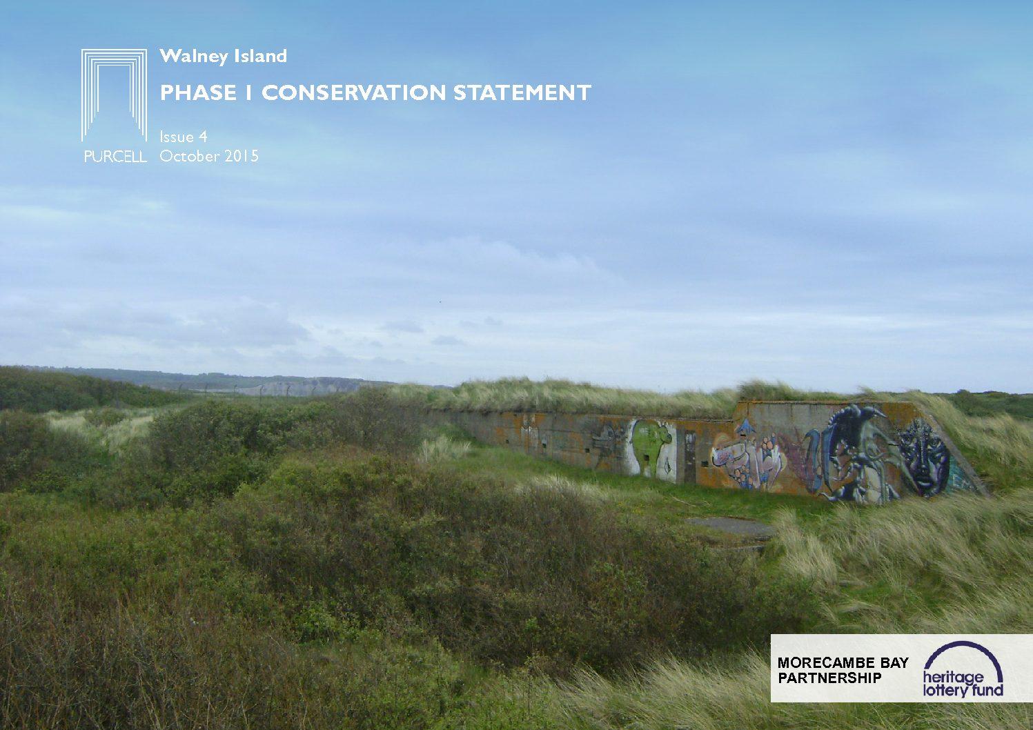 Walney Island Phase 1 Conservation Statement