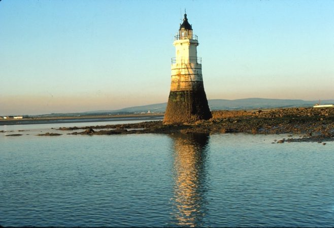 Plover Scar Lighthouse, Lune Estuary near Cockersand Abbey | Alan Smith