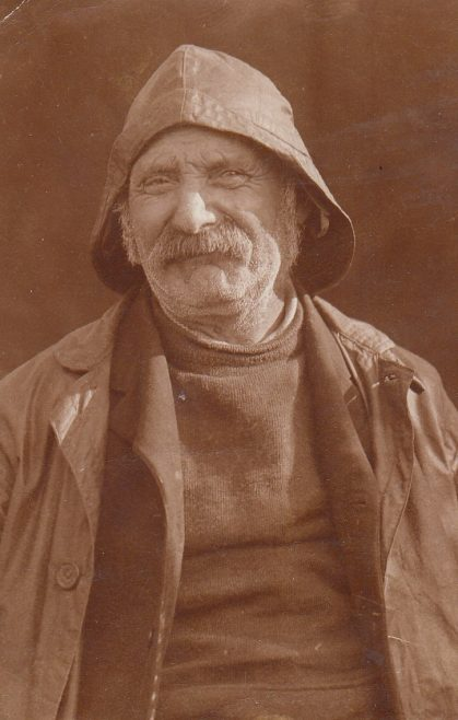 Portrait of fisherman Robert Parkinson | Bob Parkinson