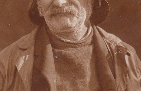 Portrait of fisherman Robert Parkinson