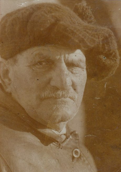 Portrait of Dick Raby, Keeper of Plover Scar and Cockersand lighthouses | Bob Parkinson