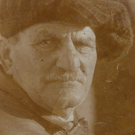 Portrait of Dick Raby, Keeper of Plover Scar and Cockersand lighthouses