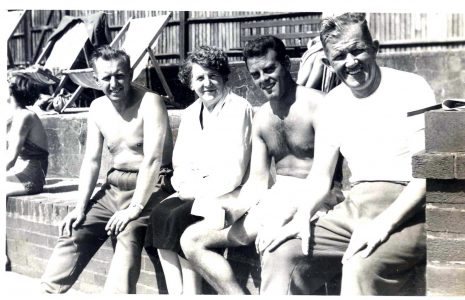 Oral history interview with Eric and Jill Atkinson on swimming