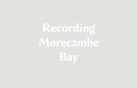 Map of Morecambe Bay Location of Heritage Assets