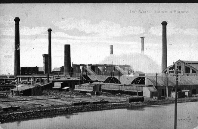 Iron Works, Barrow-in-Furness (BLC 200 PA IRO 14) | Copyright: Cumbria Archive and Local Studies Centre, Barrow-in-Furnes