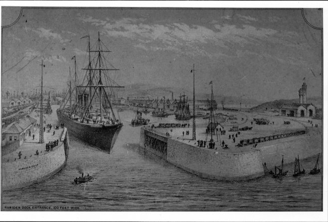 Ramsden Dock 1897 | Copyright: Cumbria Archive and Local Studies Centre, Barrow-in-Furness