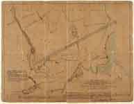 Plan of proposed Ulverston Canal 1792 (BSUD) | Copyright: Cumbria Archive and Local Studies Centre, Barrow-in-Furness