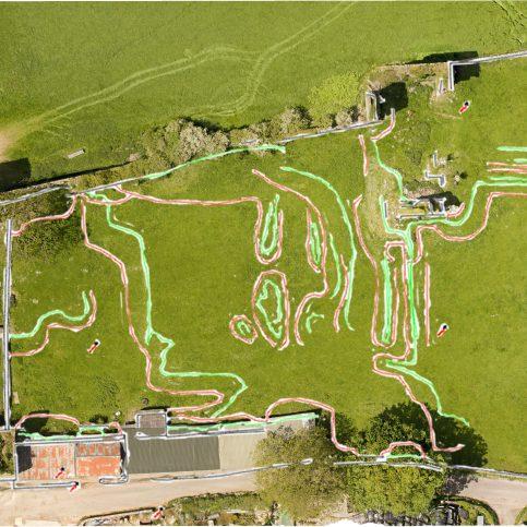3D overlay, Gleaston Castle