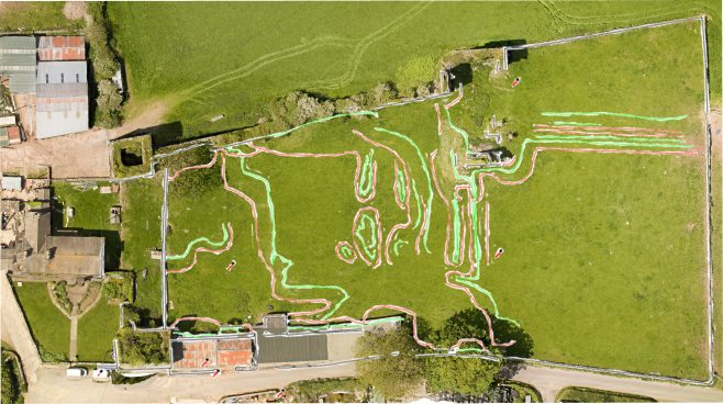 3D overlay, Gleaston Castle | Morecambe Bay Partnership