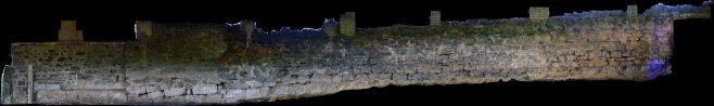 External upper wall, Gleaston Castle | Morecambe Bay Partnership
