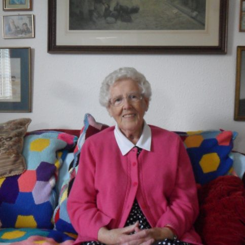 Photograph of Ellen Shuttleworth, interviewee for oral history project.
