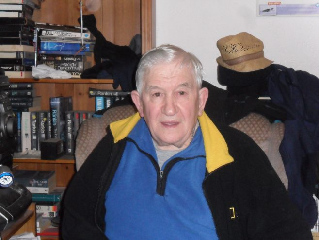 Photograph of Ernie Nicholson, interviewee for oral history project.