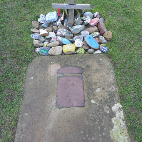 Sambo's Grave at Sunderland Point.