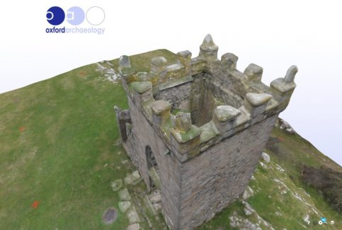 3D model of Kirkhead Tower