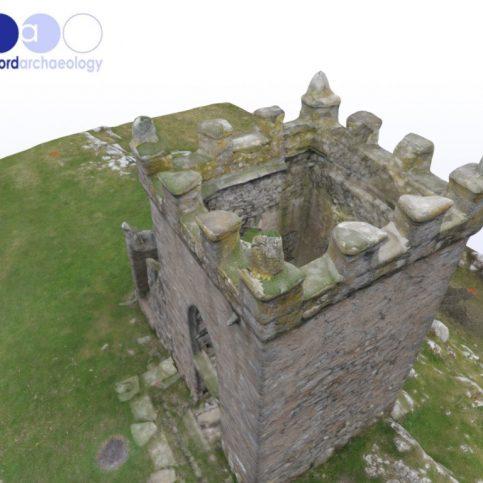 3D model of Kirkhead Tower
