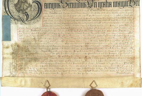 Letters Patent appointing a Guide across the Sands