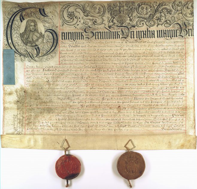 Letters Patent appointing a Guide across the Sands | Lancashire Archives