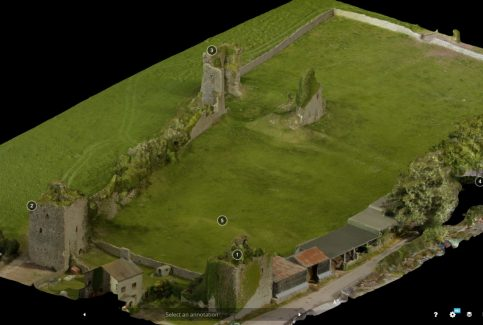3D Model of Gleaston Castle