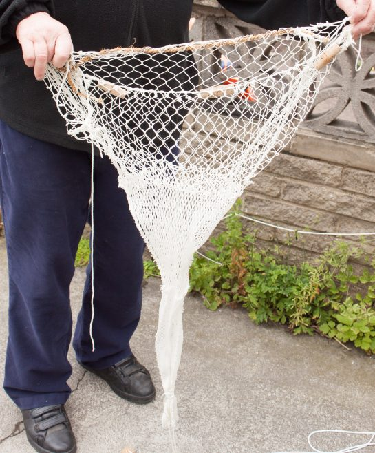 Model of a shrimping net | Malcolm Sole