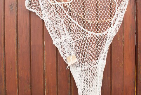 Model of a trawl net 1.