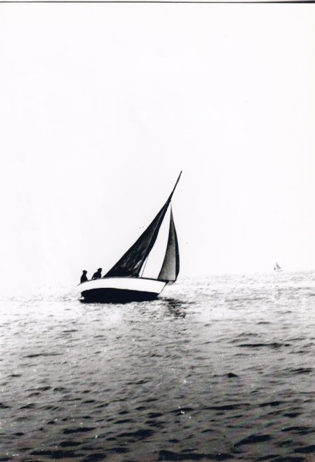 Mussel boats sailing in the Morecambe Regatta 2. | Keith Willacy collection