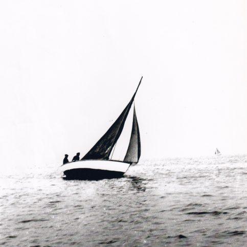 Mussel boats sailing in the Morecambe Regatta 2.