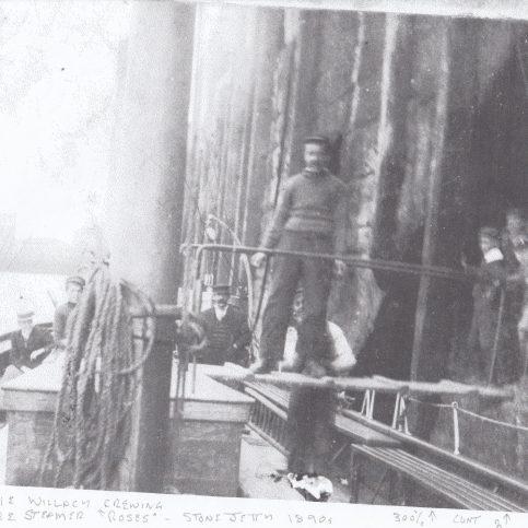 Charlie Willacy, crewman aboard pleasure steamer