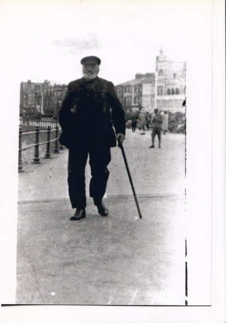 Portrait of William (Billy Traveller) Woodhouse, a retired fisherman | Keith Willacy collection