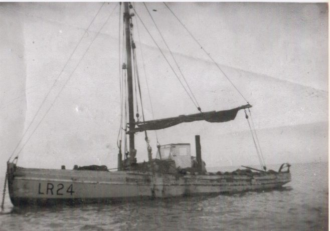 Linda LR 24, was built by Crossfields of Arnside   Keith Willacy collection