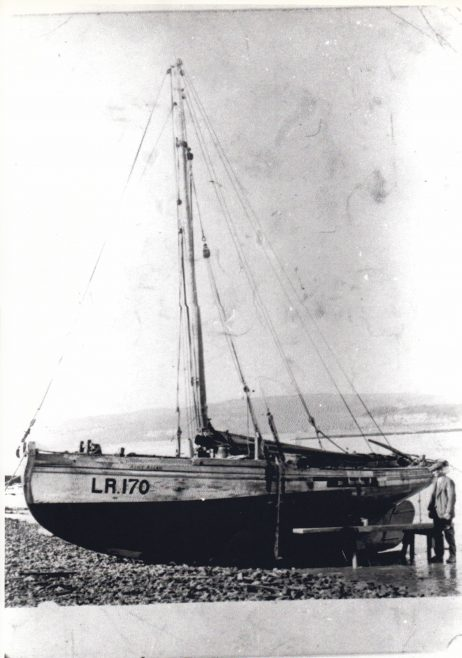 Alice Allan, LR 170 was built by Crossfields of Arnside in 1916 | Keith Willacy collection