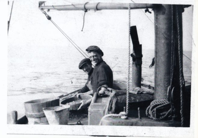 Two Morecambe Bay fishermen | Keith Willacy collection