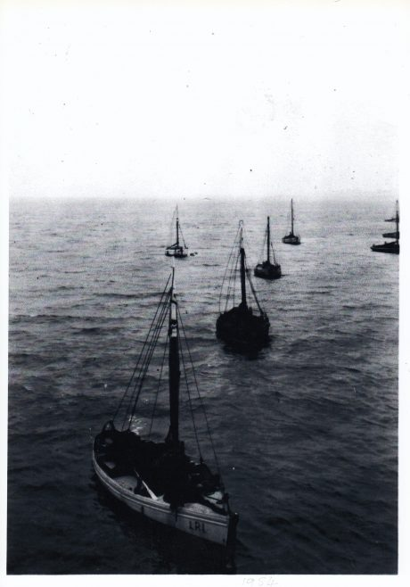 Fishing boats at their moorings east of Central Pier, Morecambe | Keith Willacy collection