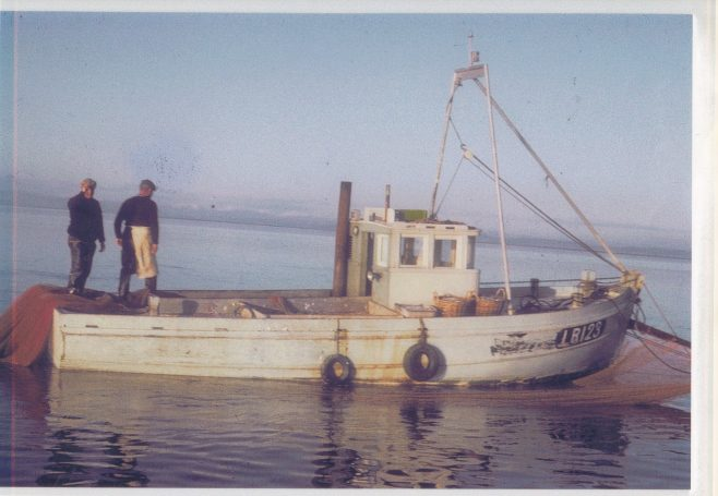 Girl Helen LR 123, the first new boat built for Morecambe since 1935 | Keith Willacy collection