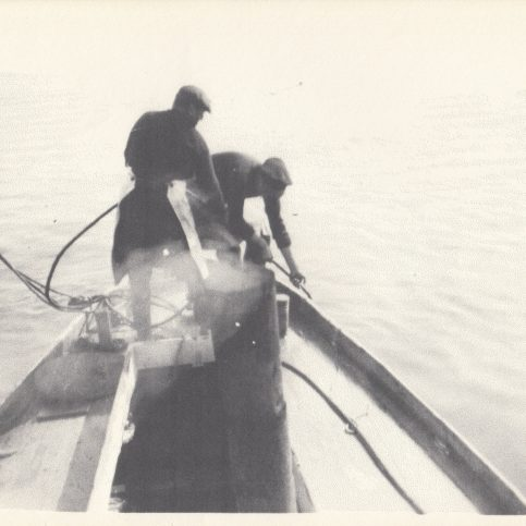 Fishermen landing the day's catch at Green Street stag | Keith Willacy collection