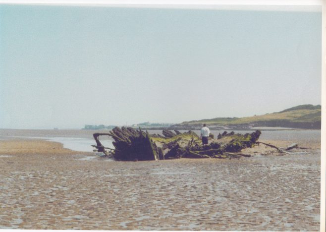 The remains of the barque