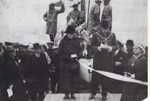The Naming Ceremony for the Morecambe Fisherman's lifeboat Sir William Priestley