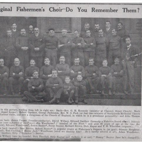 The original Fishermen's Choir
