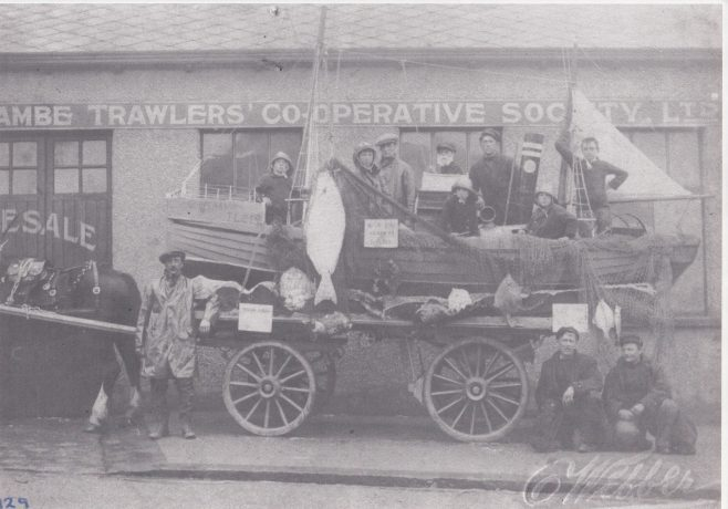 Morecambe Fishermen's Cooperative Society entry in the local carnival 1. | Keith Willacy collection