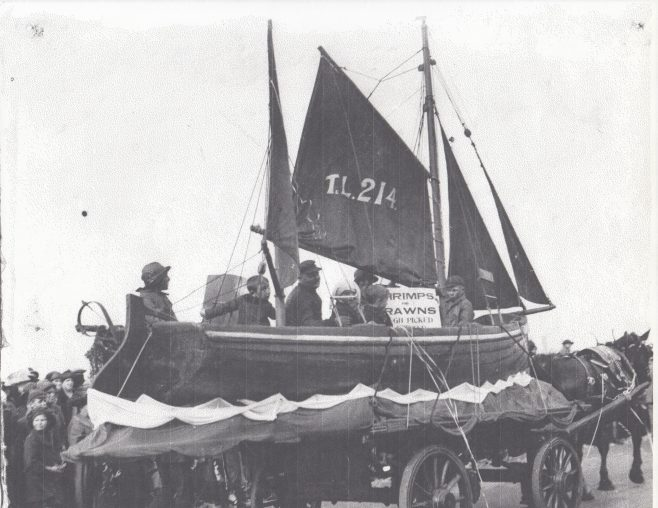 Morecambe Fishermen's Cooperative Society entry in the local carnival 2. | Keith Willacy collection