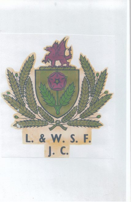 The emblem of the L & W.S.F.J.C. | Keith Willacy collection