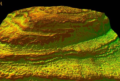 Warton Crag: David Ratledge 2017 LIDAR Image #4 of 5