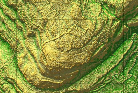 Warton Crag: David Ratledge 2017 LIDAR Image #5 of 5