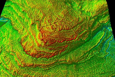 Warton Crag: David Ratledge 2016 LIDAR Image #1 of 5