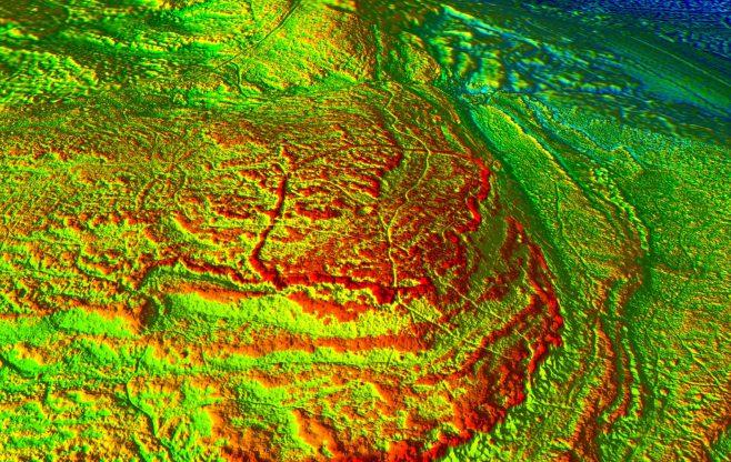 David Ratledge 2016 LIDAR Image #2 of 5 | David Ratledge