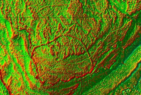 Warton Crag: David Ratledge 2016 LIDAR Image #5 of 5