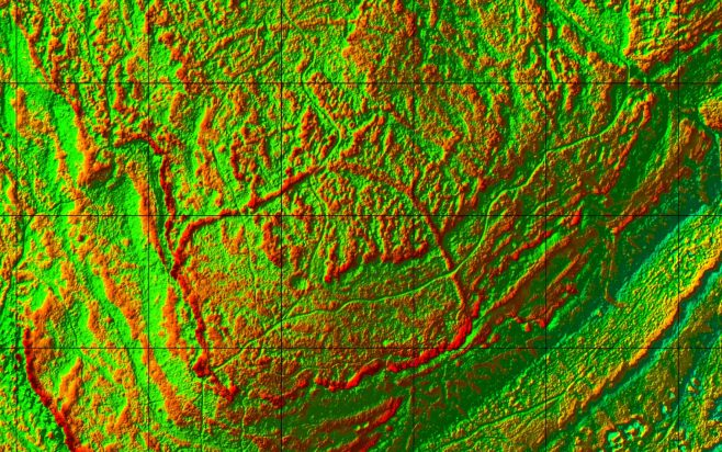 David Ratledge 2016 LIDAR Image #5 of 5 | David Ratledge
