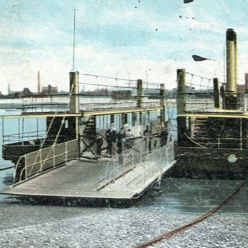 Walney ferry | Copyright: Cumbria Archive and Local Studies Centre, Barrow-in-Furness