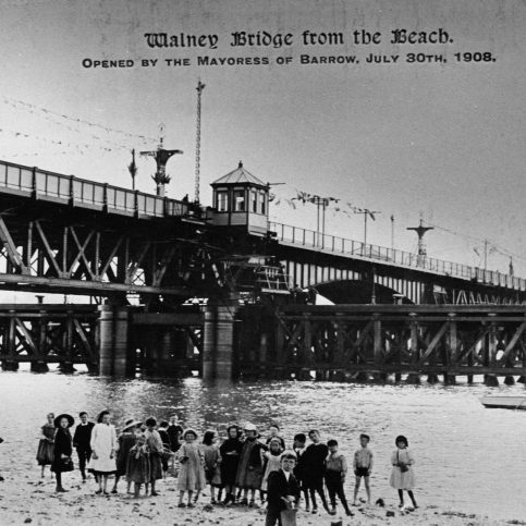 Walney Bridge | Copyright: Cumbria Archive and Local Studies Centre, Barrow-in-Furness